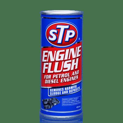 engine flush STP untuk membersihkan mesin setiap kali Anda mengganti oli